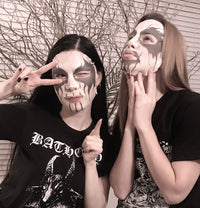 Kaamos Cosmetics, Corpse Paint, Green Tea, Mask
