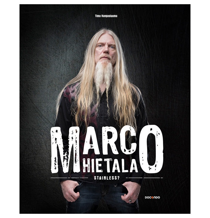 Marco Hietala, Stainless?, Book, In English - Backstage Rock Shop
