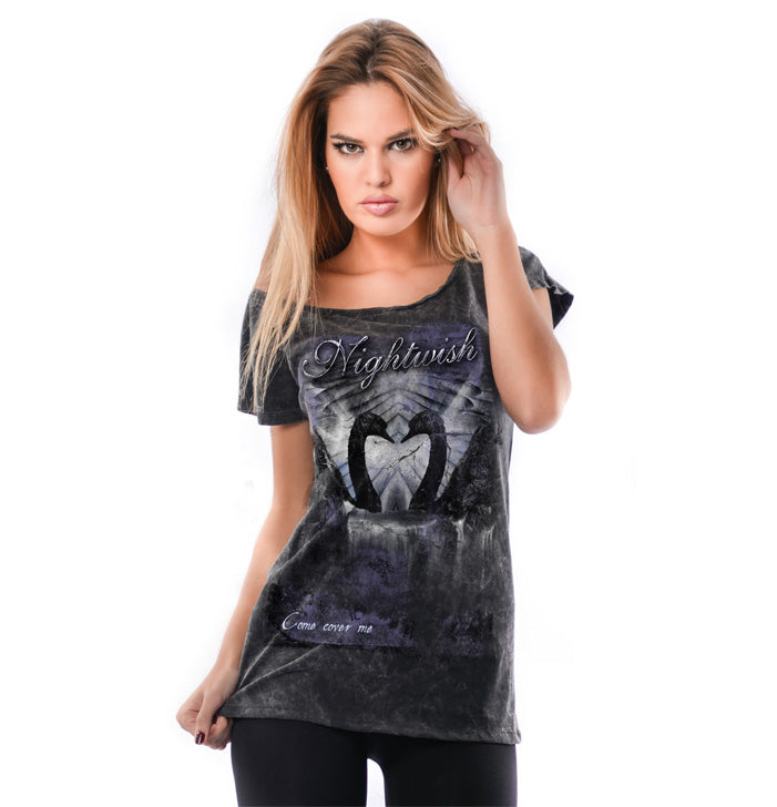 ca228f87 Nightwish, Come Cover Me, Women's Top - Backstage Rock Shop