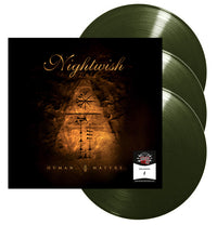 Nightwish, Human. :||: Nature., Exclusive Numbered Olive Green 3LP Vinyl