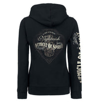 Nightwish, VOS Black & White, Women's Zip Hoodie