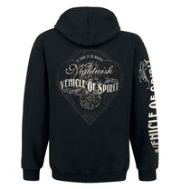 Nightwish, VOS Black & White, Zip Hoodie