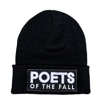 Poets of the Fall, 3D Logo, Cuffed Beanie