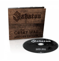 Sabaton, The Great War, History Version Digipak CD