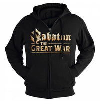 Sabaton, The Great War, Zip Hoodie