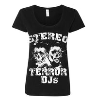 Stereo Terror, Stop Being Poor, Women's T-shirt