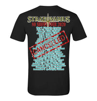 Stratovarius, No Shows Tour 2020, T-Shirt