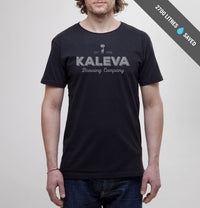 Kaleva Brewing Company, Logo, T-Shirt, Black