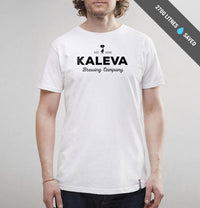 Kaleva Brewing Company, Logo, T-Shirt, White