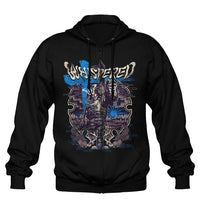 Whispered, True Finnish Samurai Metal, Zip Hoodie