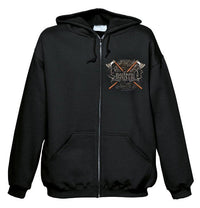 Ensiferum, Viking Warrior, Zip Hoodie