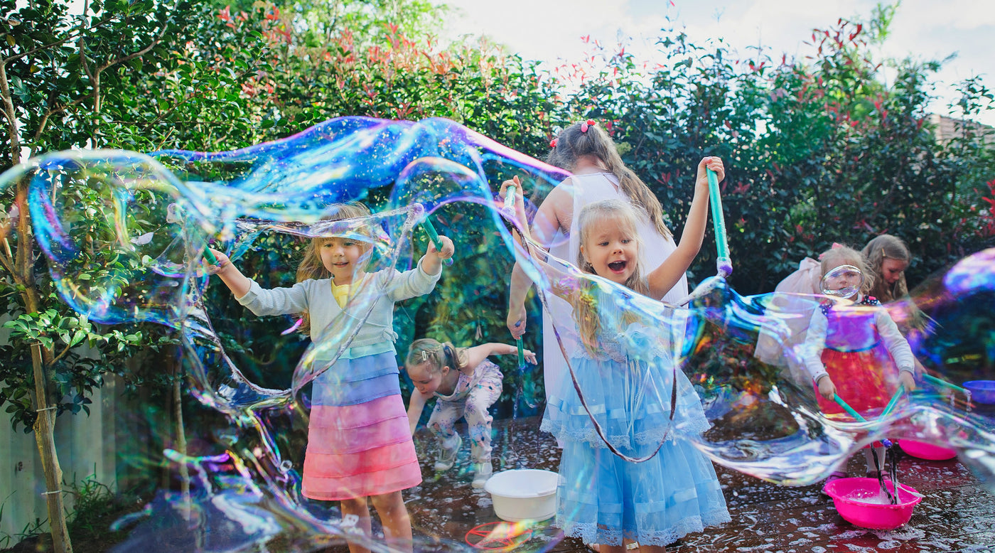 Bubble Party For Kids (All Outdoors) - Bubbly