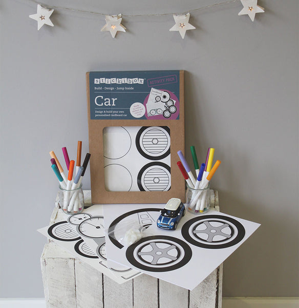 Stickibox Car Activity Pack
