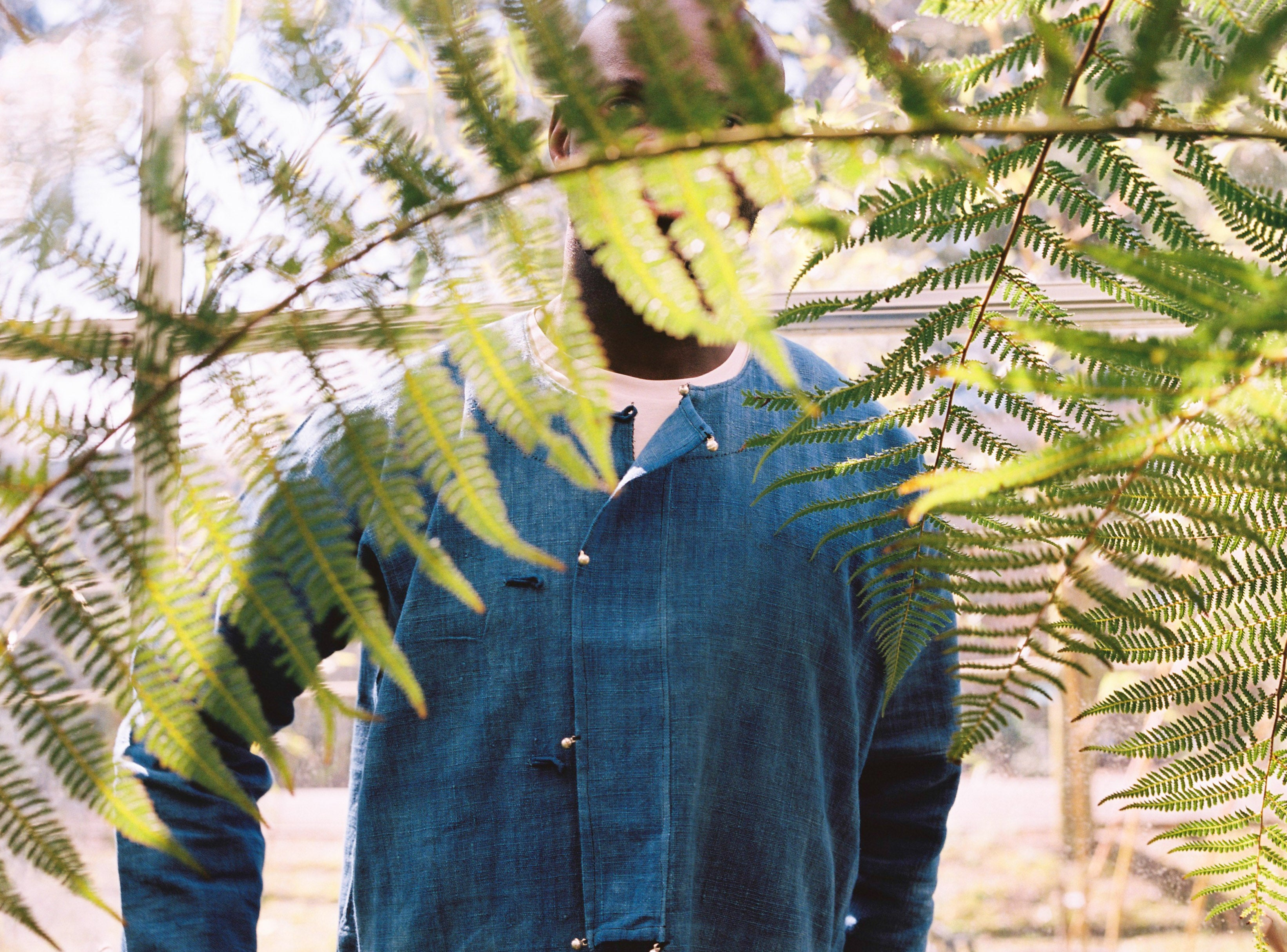 Indigo Jacket, natural dye, organic cotton
