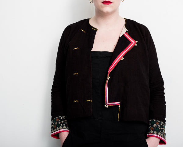 Embroidered Jacket (Medium 01)   tamay and me.myshopify.com
