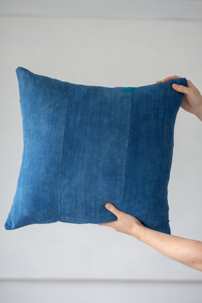 6 dip Indigo panel cushion