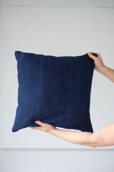 12 dip Indigo panel cushion