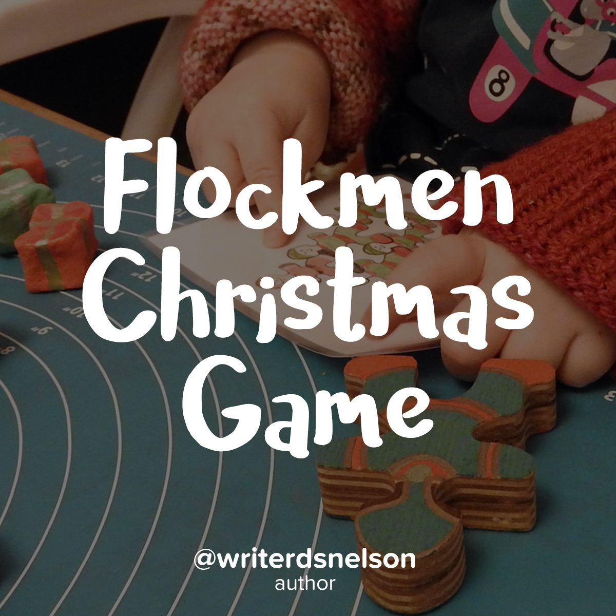 Guide on family creating a Christmas Game from Flockmen