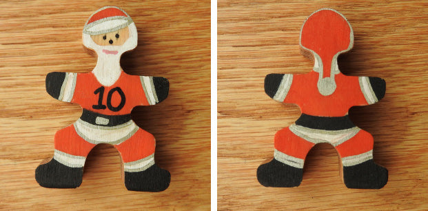 Flockmen Santa Front and Back