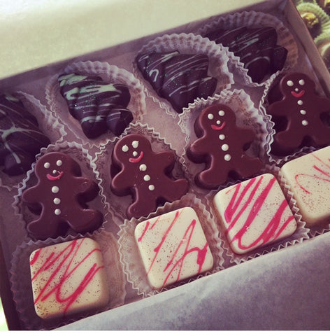 Box of 12 Christmas Truffles