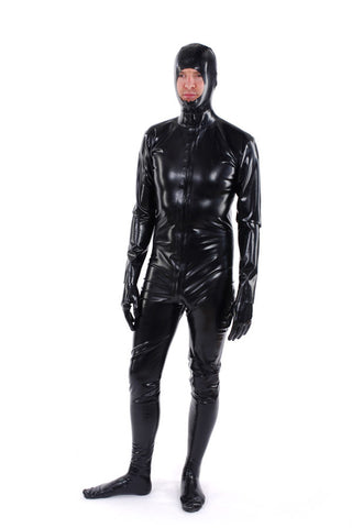 Catsuit with hood