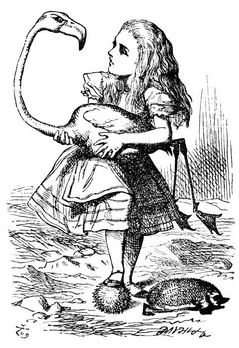 FREE Alice in Wonderland Coloring Page
