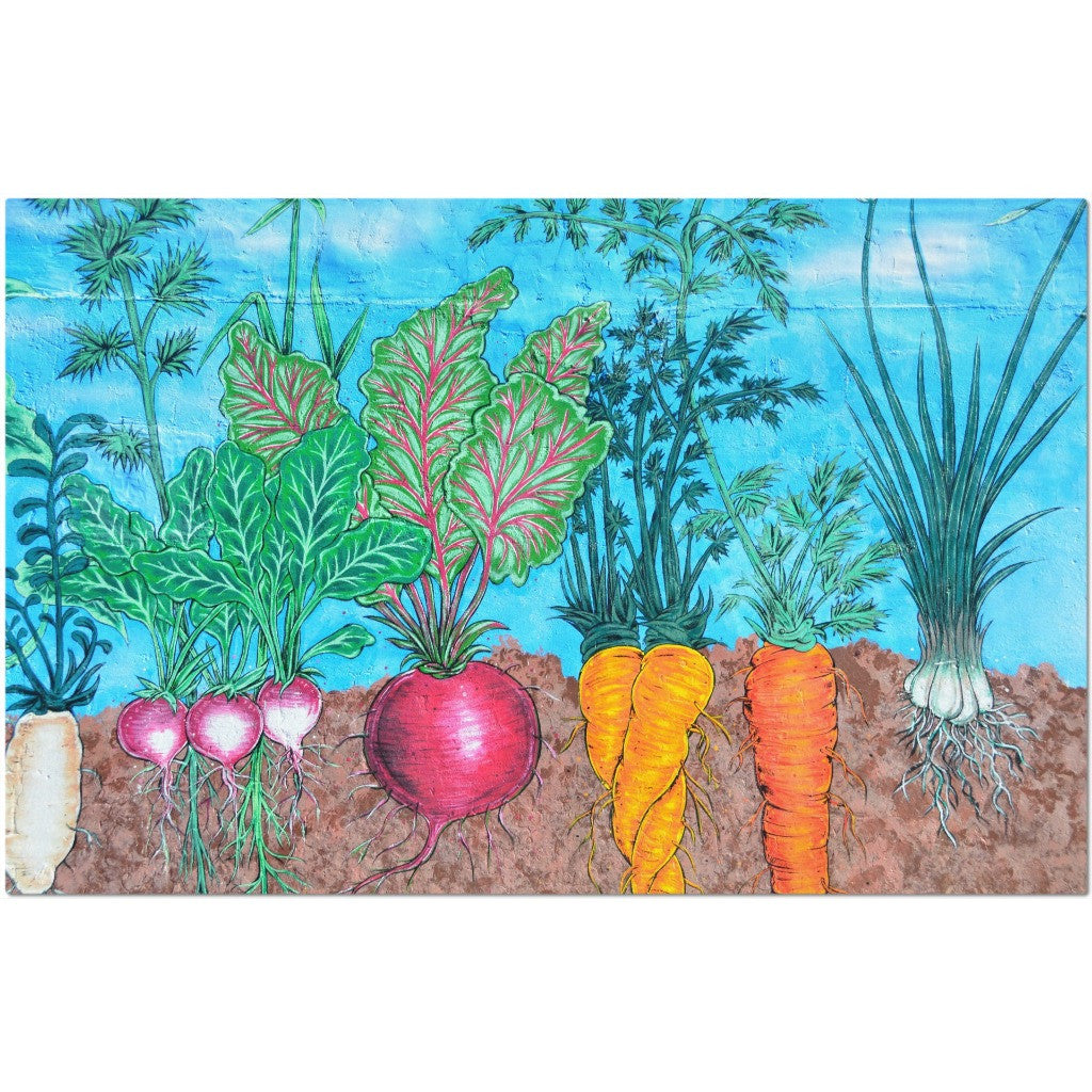 Laminated Vegetables Placemat 11 x 17""
