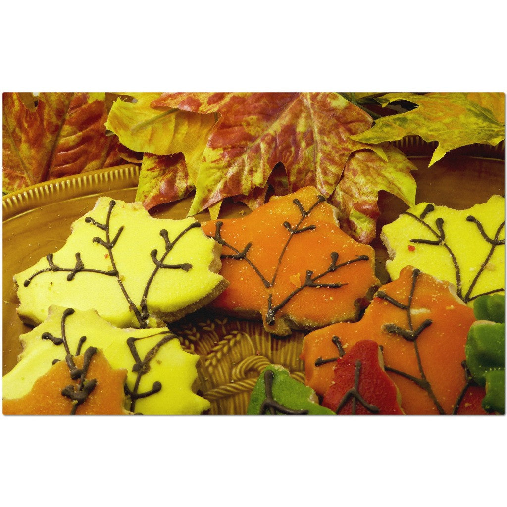 Laminated Autumn Placemat 11 x 17""