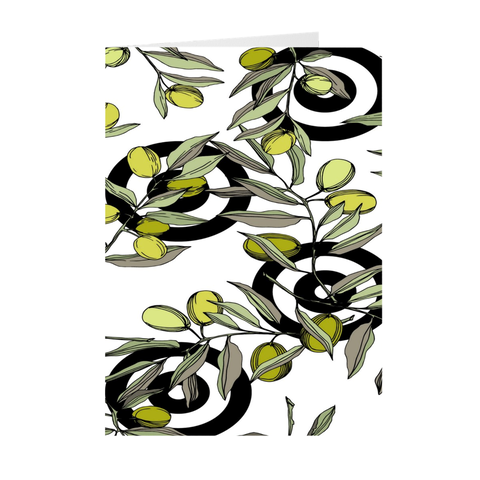 Olive Art Print Folded Cards