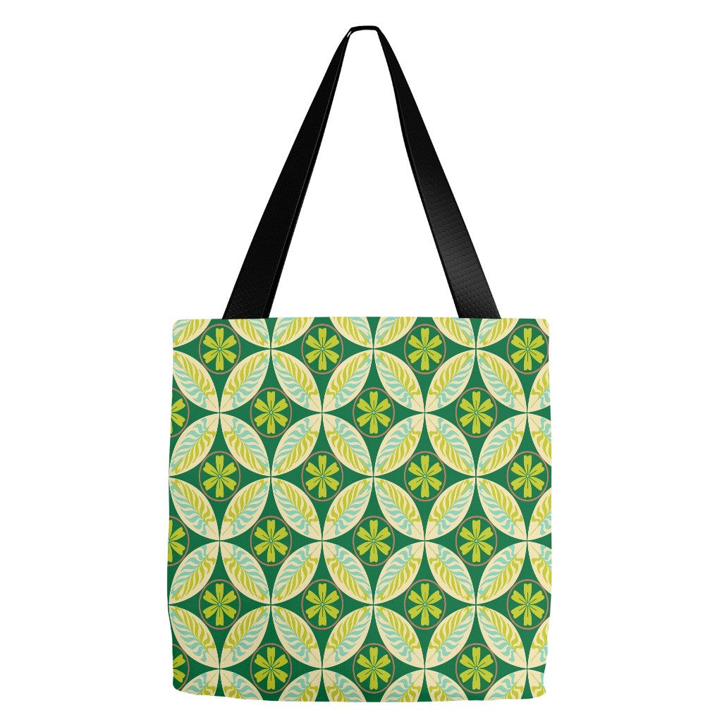 Geometric Design Tote Bag 18 x 18""