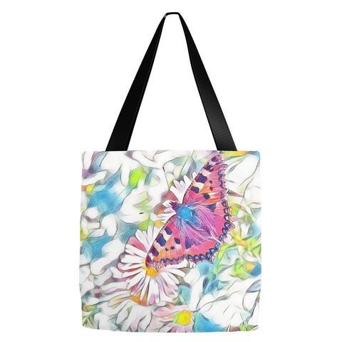 Butterfly Tote Bag 18 x 18""