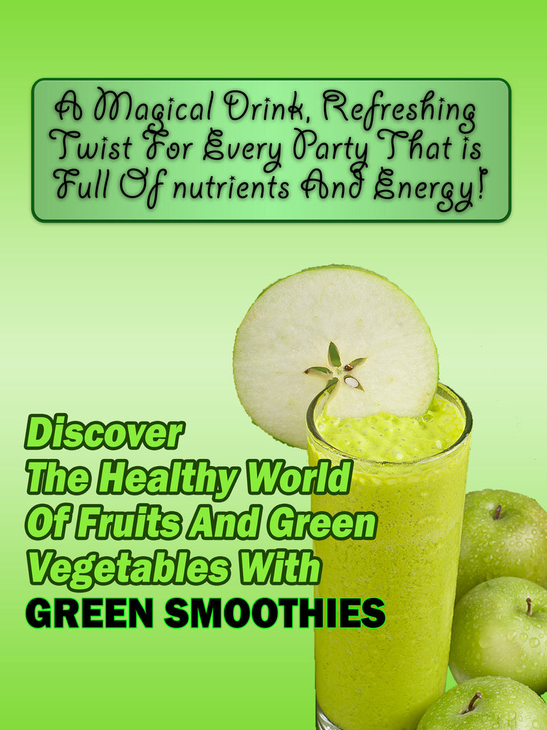 Green Smoothie Information and Recipe ebook Instant Download PDF
