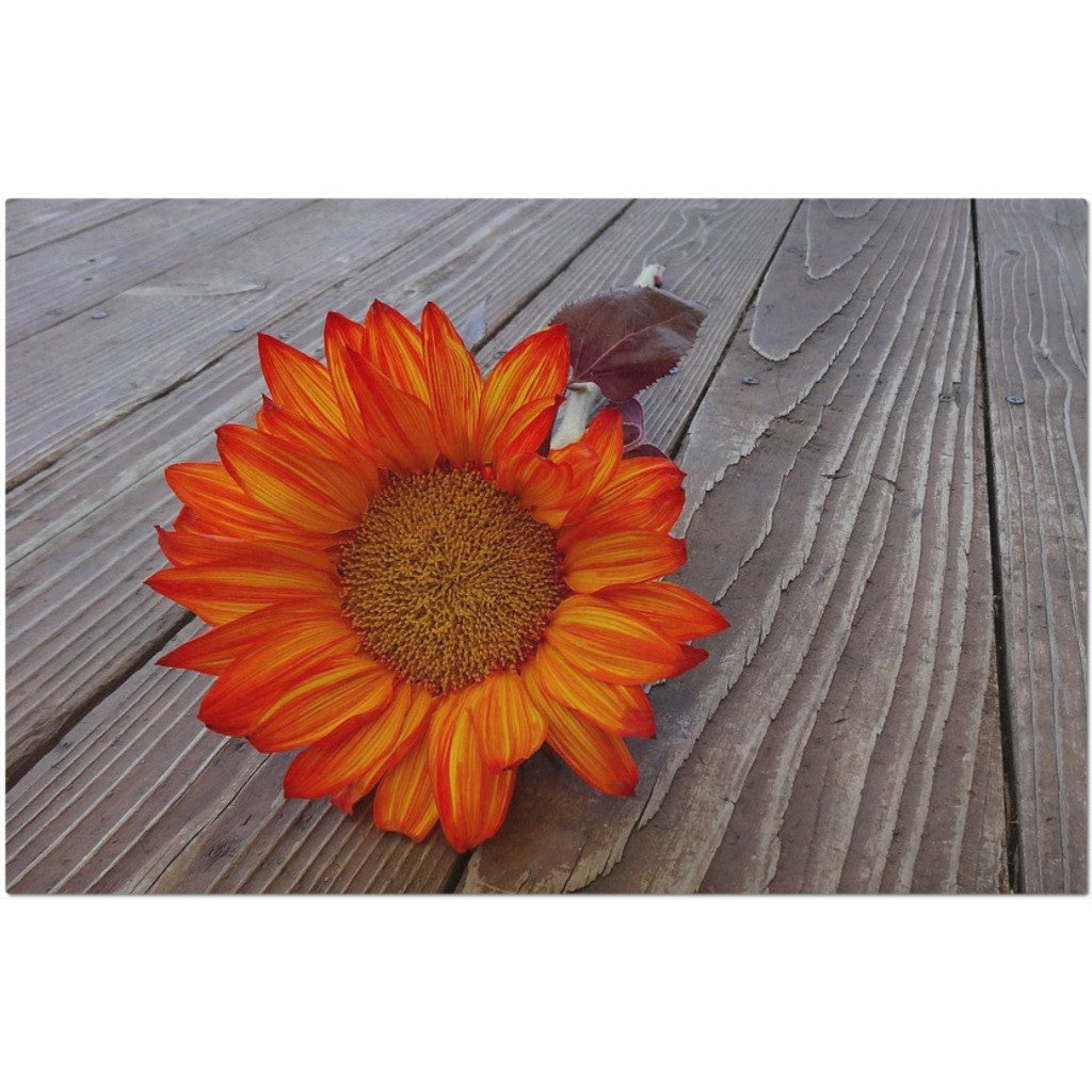Laminated Sunflower Placemat 11 x 17""