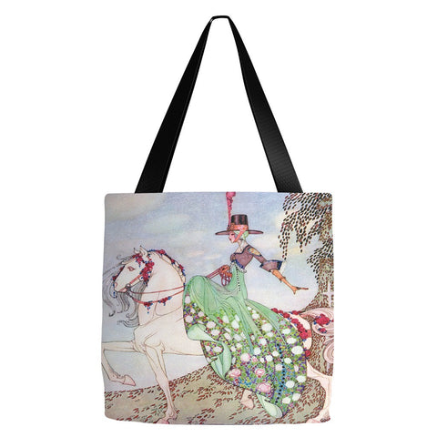 12 Dancing Princesses Tote Bag 18 x 18""