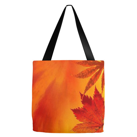 Autumn Leaves Tote Bag 18 x 18""