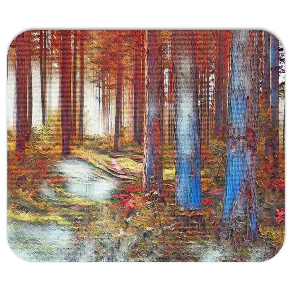 Trees in the Woods Mousepad