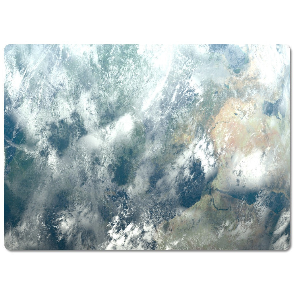 Glass Cutting Board Abstract Design