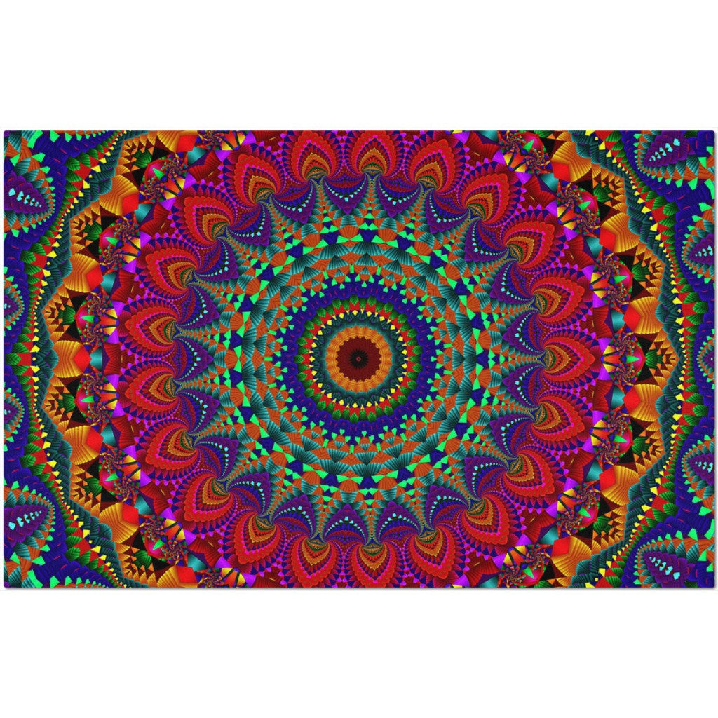 Laminated Mandala Placemat