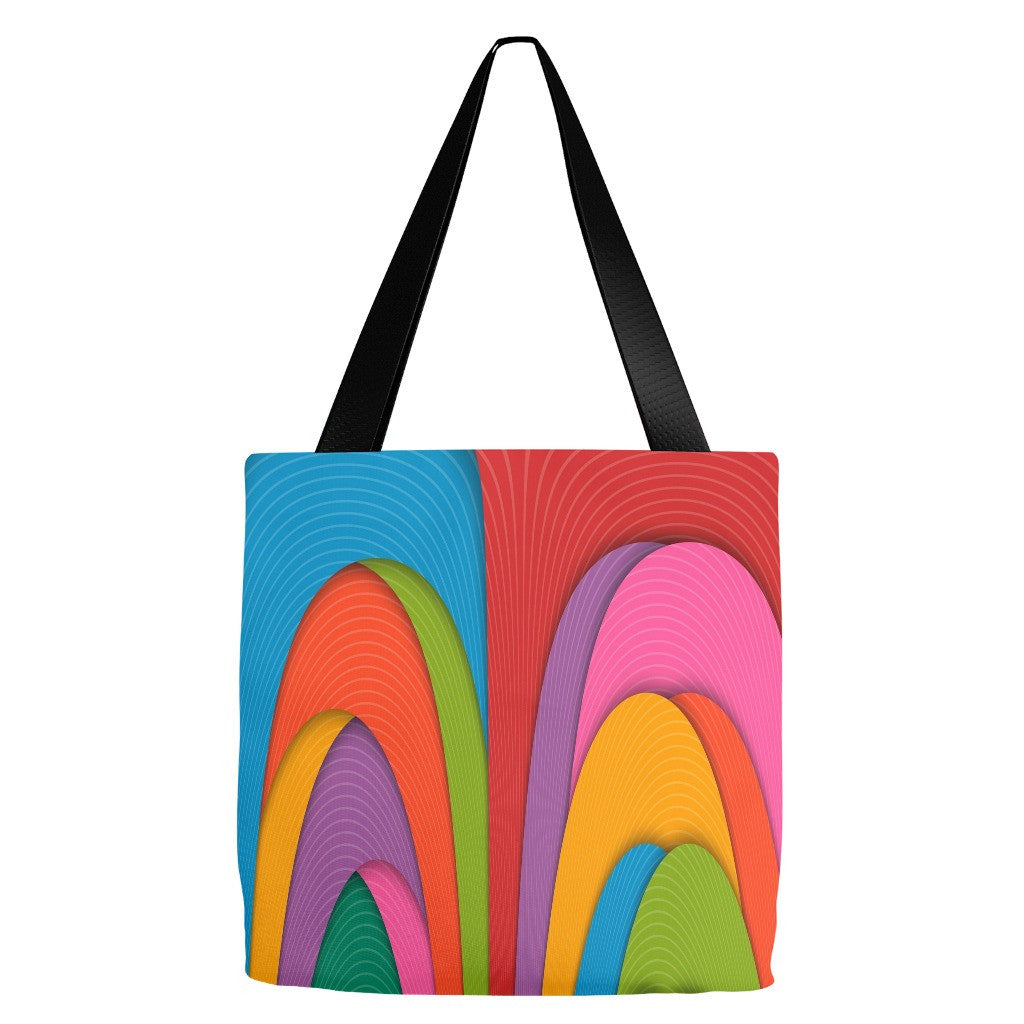 Modern Art Design Tote Bag 18 x 18""