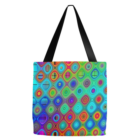 Abstract Tote Bag 18 x 18""