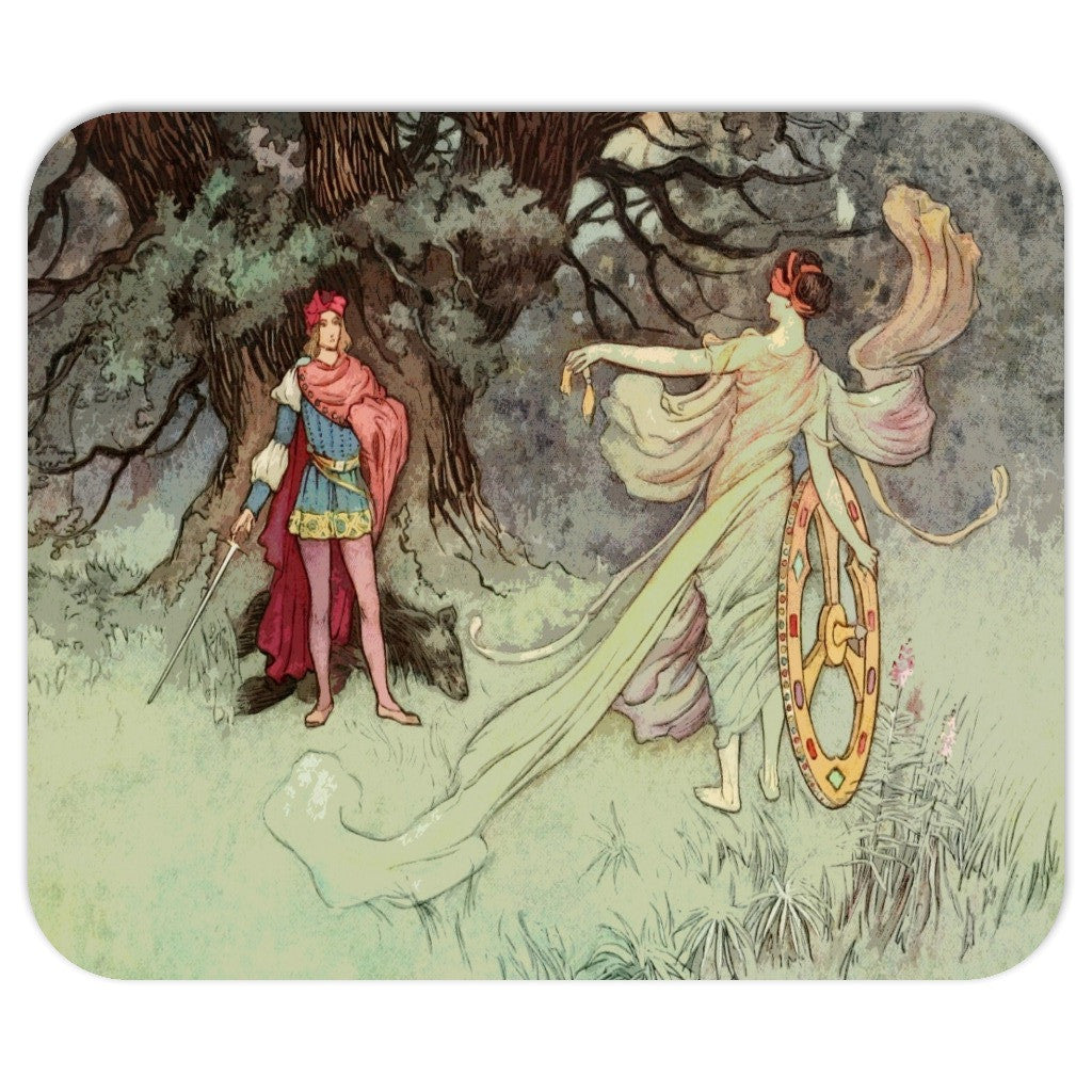 Fairy Tale Vintage Art Mousepad