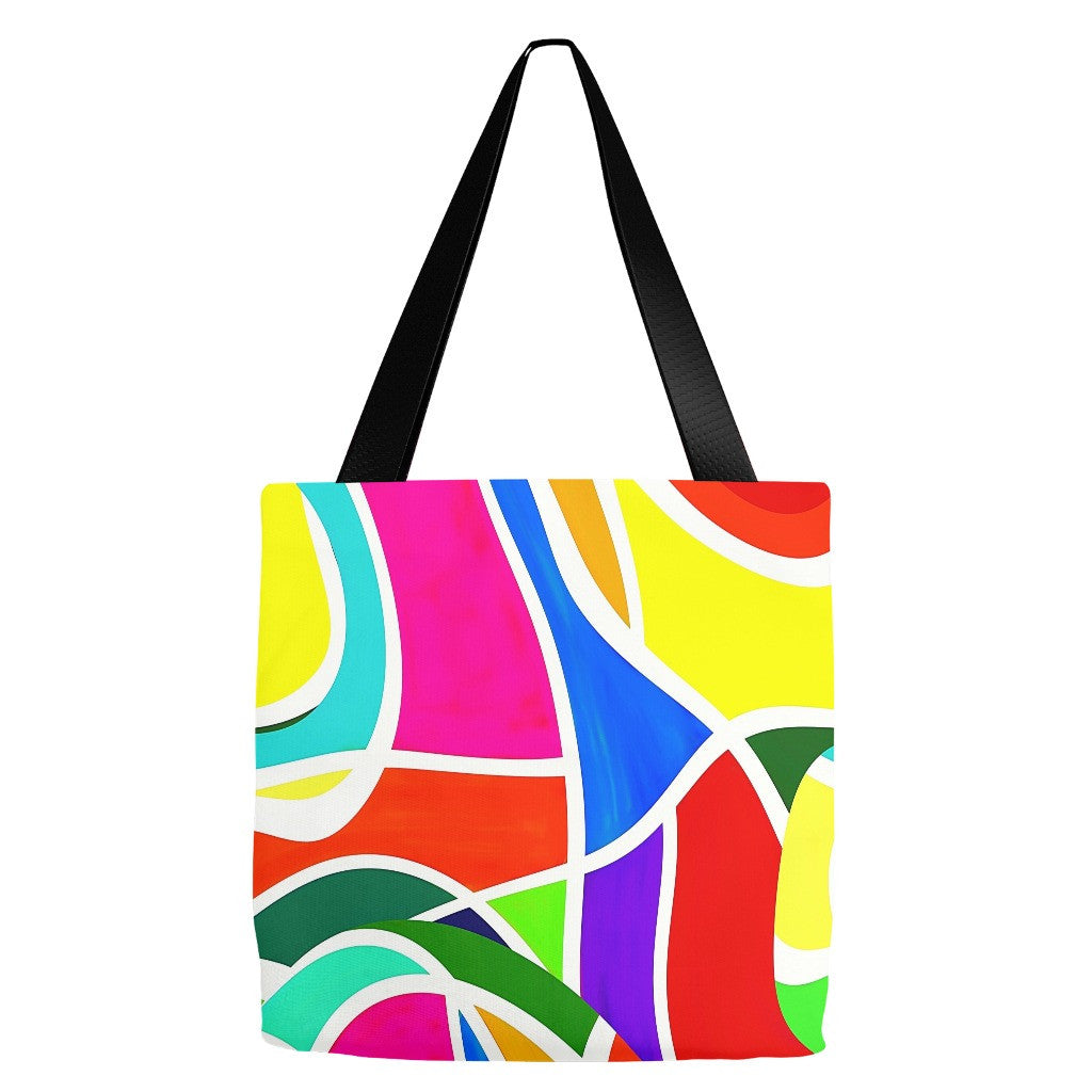 Abstract Design Tote Bag 18 x 18""