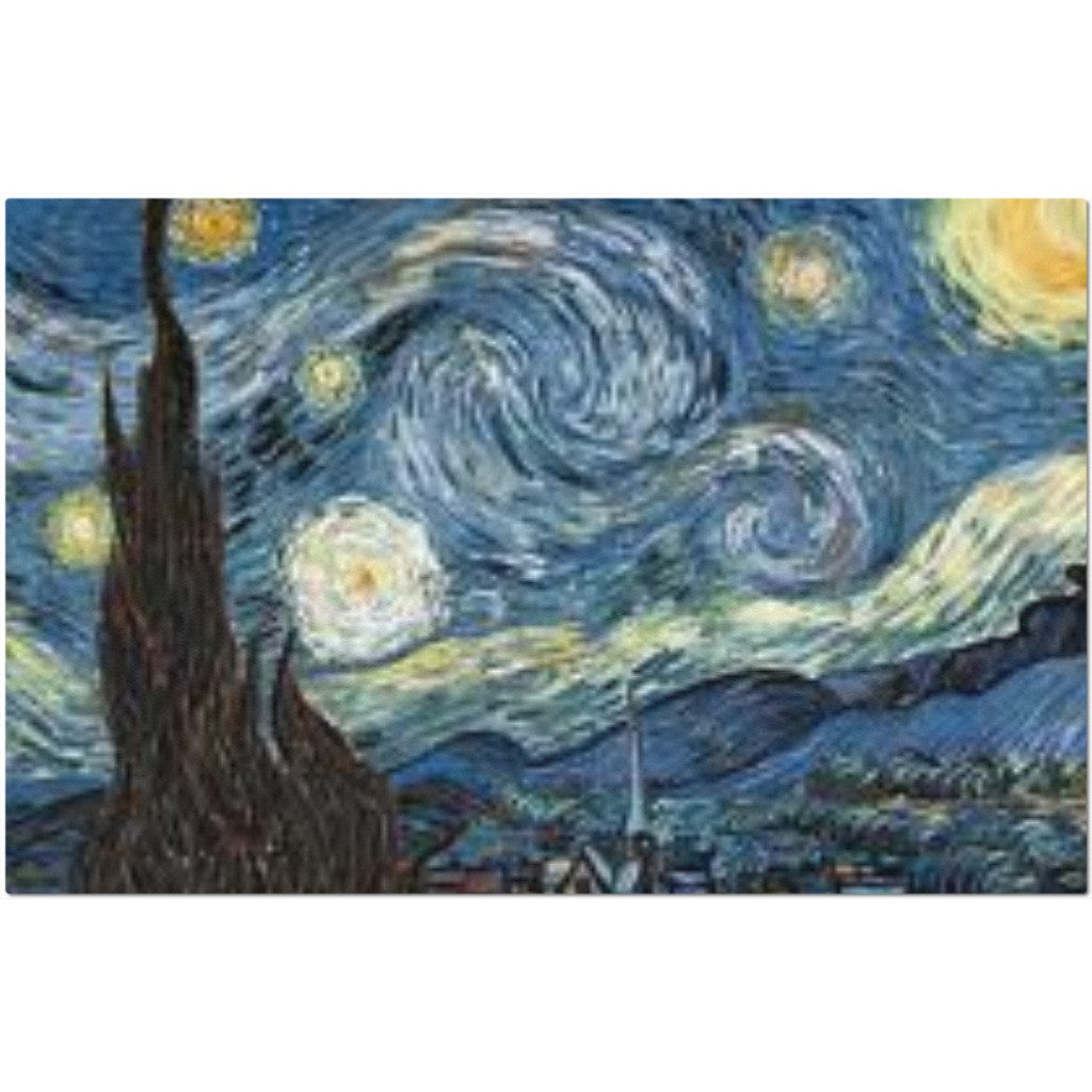 Laminated Starry Night Van Gogh Placemat