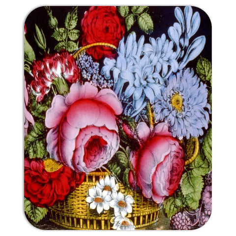 Flower Basket Mousepad