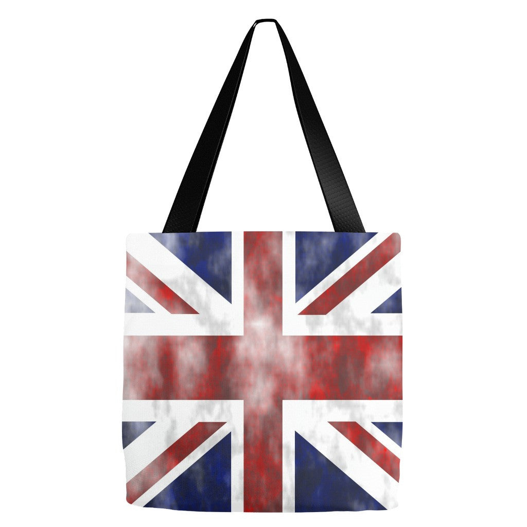 Union Jack British Flag Tote Bag 18 x 18""