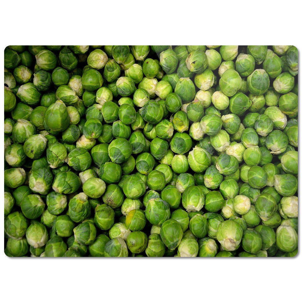 "Glass Cutting Board ""Sprouts"""