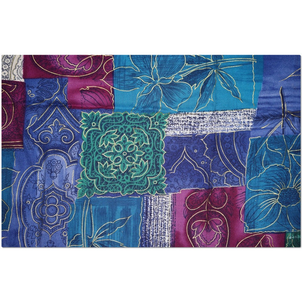Laminated Patchwork Placemat 11 x 17""