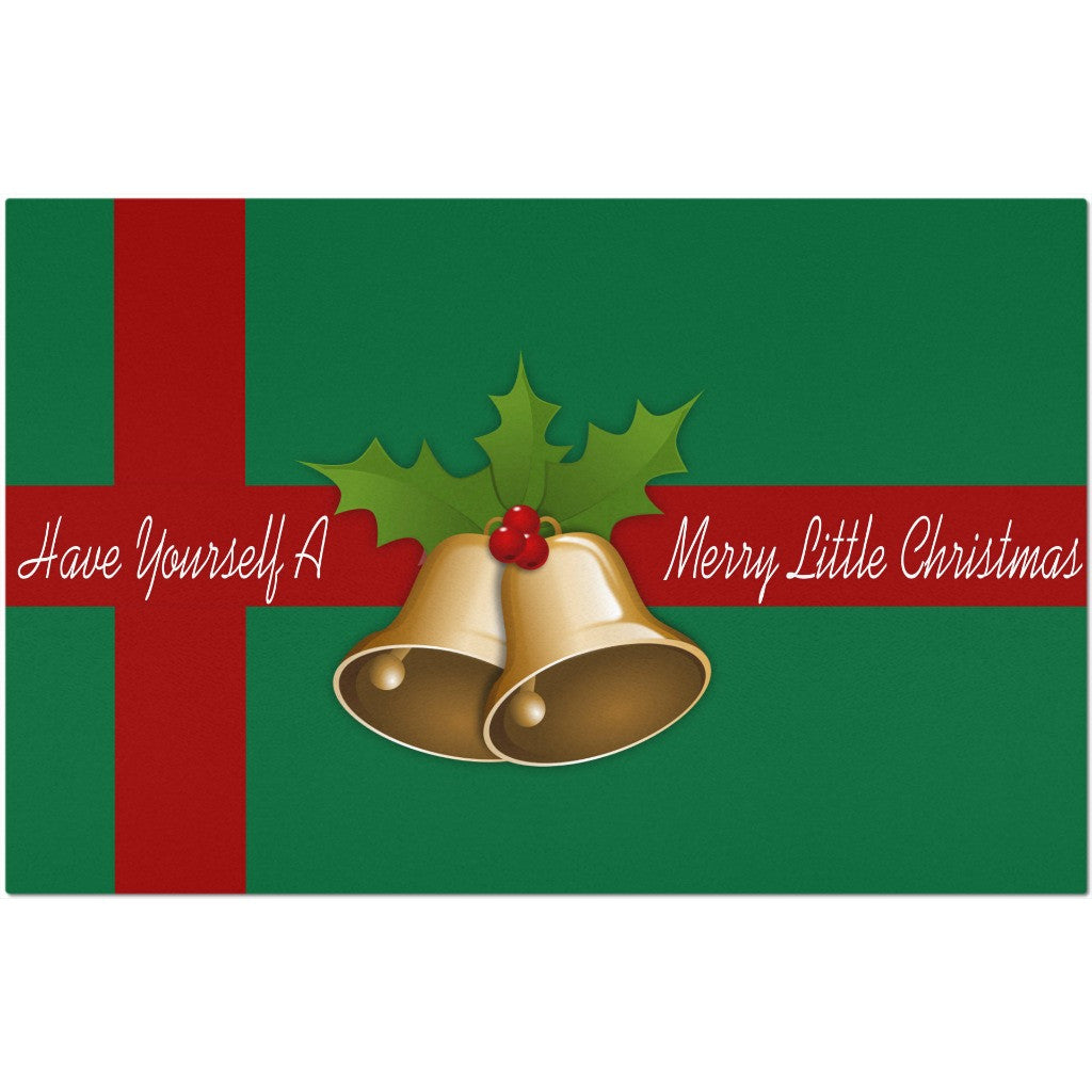 Laminated Christmas Placemat 11 x 17""