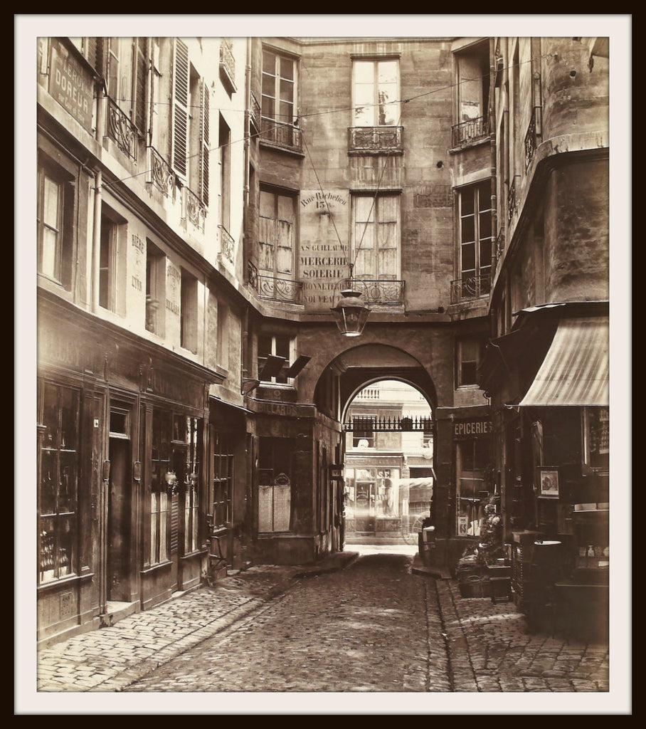"Photograph Wall Decor ""Charles Marville Paris""  8 x 10 Photo Print  Unframed"