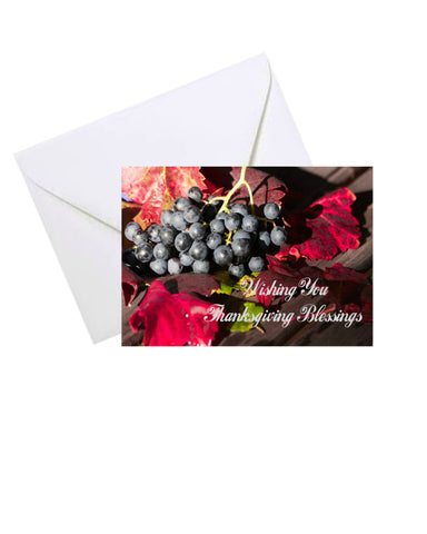 Thanksgiving Greeting Card #2